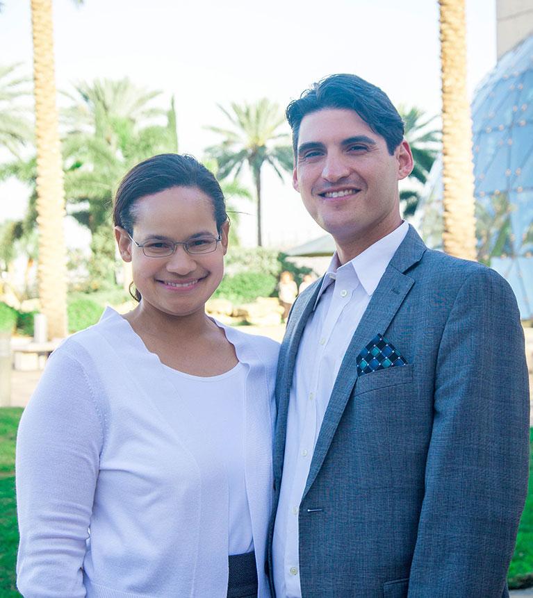 Adam and Fredericka Espinoza - Director, Celebrate Recovery